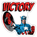 Marvel Heroes sticker 10