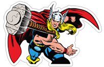 Marvel Heroes sticker 12
