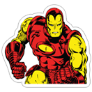 Marvel Heroes sticker 14