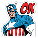 Marvel Heroes sticker 15