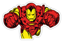 Marvel Heroes sticker 17