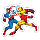Marvel Heroes sticker 23