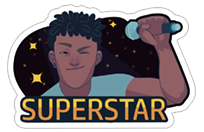 SuperStar - TV Globo sticker 10
