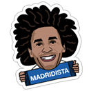 Official Real Madrid sticker 1