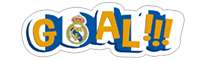 Official Real Madrid sticker 2