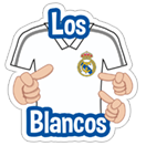 Official Real Madrid sticker 8