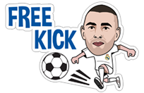 Official Real Madrid sticker 9