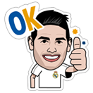 Official Real Madrid sticker 10