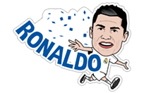 Official Real Madrid sticker 15