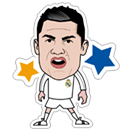 Official Real Madrid sticker 23