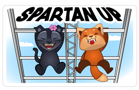 Cтикер «The Spartan Pack UK» #4