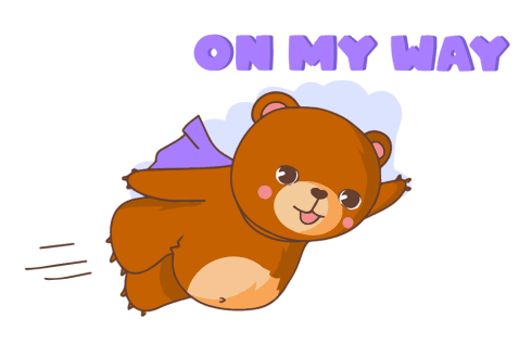 «Bear With Me!» sticker #3