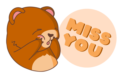 «Bear With Me!» sticker #6