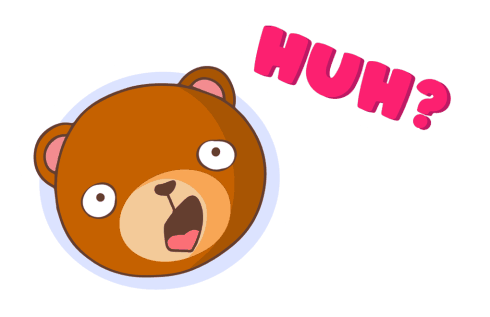 «Bear With Me!» sticker #16