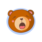 «Bear With Me!» sticker #19