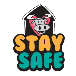«INQ #StaySafeAndInformed» sticker #10