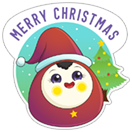 Merry Christmas & Happy New Year 2018 sticker 1