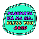 BYE 2020 sticker 10